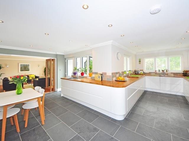 Ultra modern open plan kitchen in Buckinghamshire