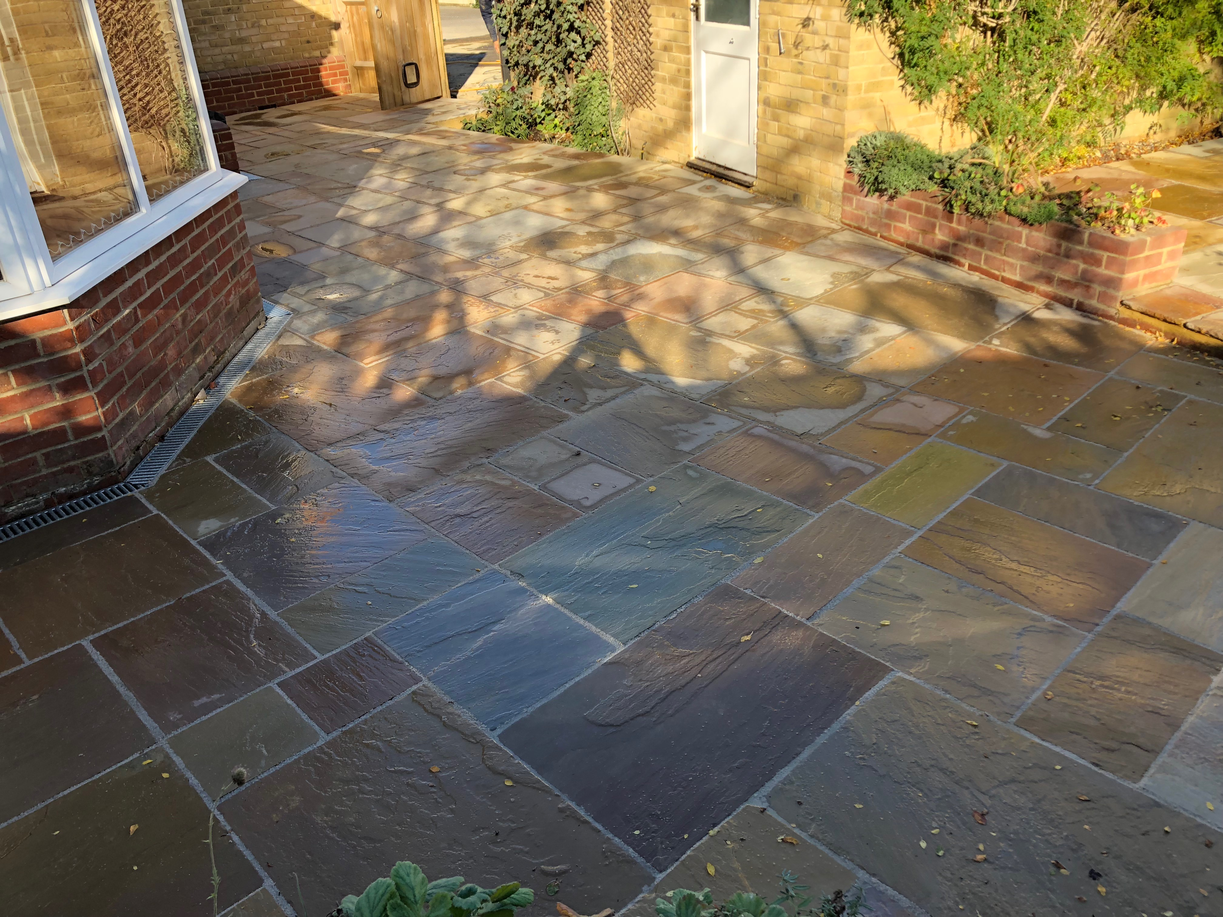 Large residential paving project by J Wilkes