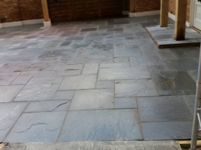 New paving project in Buckinghamshire