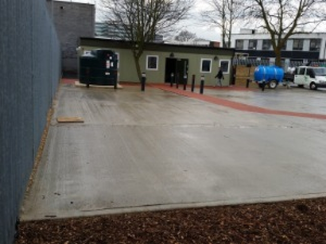 Completed car park project