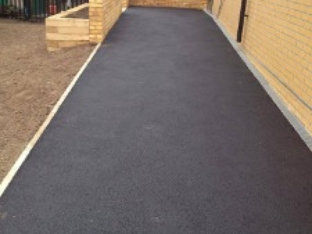 Tarmac after laying