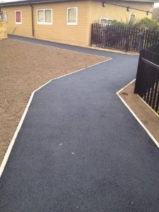 Tarmac path in London