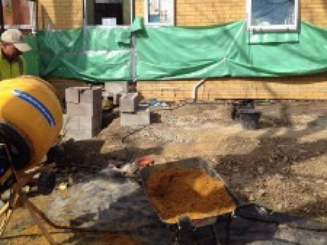 Groundworks underway in London project