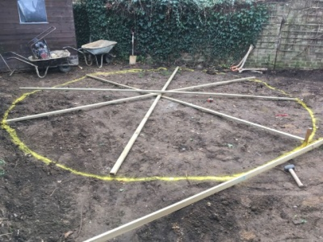 New patio being planned for London garden